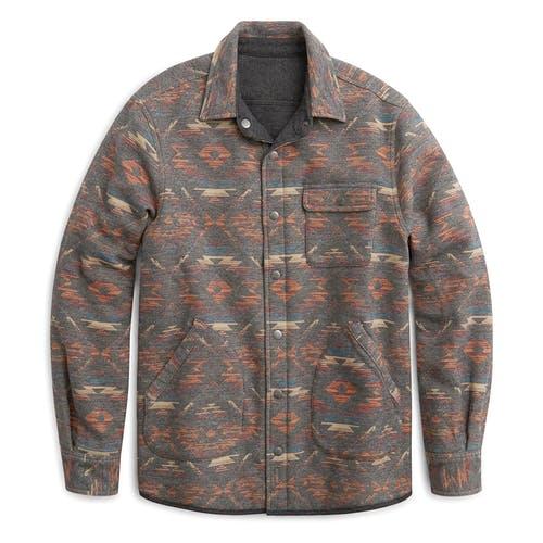 Faherty Brand Reversible Quilted Bondi jacket