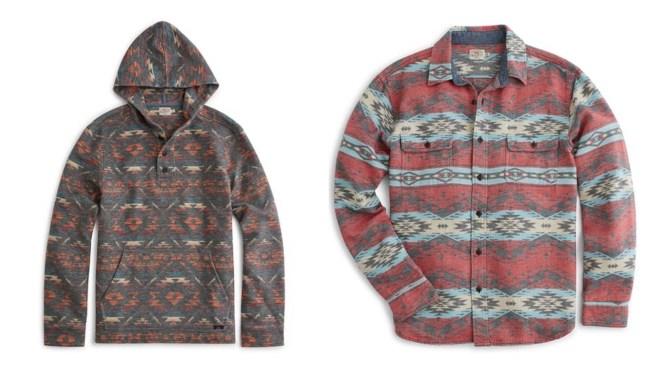 faherty brand shirts ponchos jackets