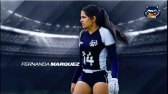 Feast Your Eyes On Fernanda Marquez, The Greatest Flag Football Player In All The Land