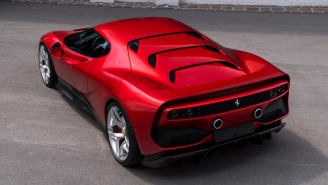 Ferrari Special Projects Unveiled Their Newest Supercar, The Wicked Cool, One-Of-A-Kind SP38