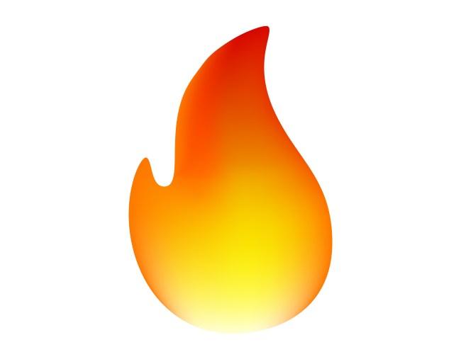 fire flame emoji