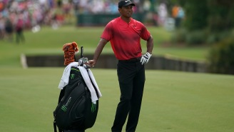 Tiger Woods Teams Up With A Trick Shot Artist For An Amazing Shot