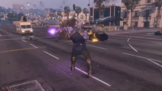 'GTA V' Mod Unleashes Thanos And The Infinity Gauntlet On San Andreas To Wreck All Sorts Of Mayhem