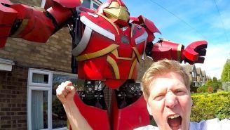 Diehard 'Avengers' Fan Builds Real-Life Hulkbuster Mech-Suit