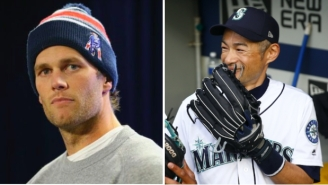 Ichiro After Getting Text From Tom Brady: 'Who The F*ck Is Tom Brady?'