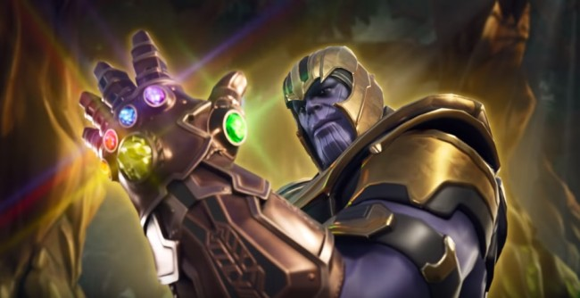 fortnite infinity gauntlet limited time