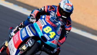 Moto3 Rider Jakub Kornfeil Pulled Off The Most Amazing Save You Will Ever See In A MotoGP Race