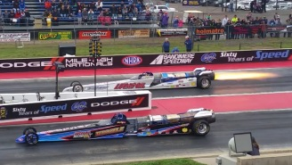 These Dragsters With Turbine-Powered Engines Are Jaw-Droppingly Fast Off The Line