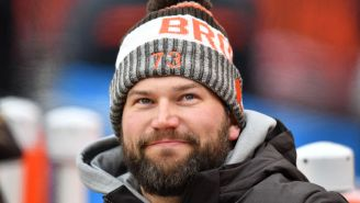 Joe Thomas Says He'll Give A Signed Steph Curry Jersey To Anyone Who Retweets His Ridiculous Prediction