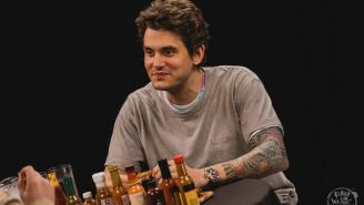 John Mayer Crushes Hot Wings While Talking About Chillin' In Montana And Why The Nickelback Jokes Are Gettin' Old