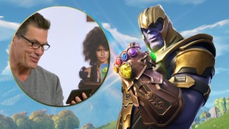 Josh Brolin's Reaction To Seeing Thanos Dancing, Flying And More In 'Fortnite' Is Pretty Great