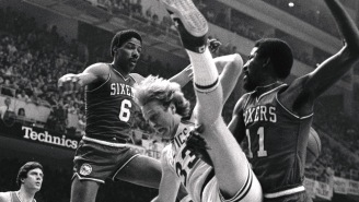 Julius Erving Detailed The Incredible Story Of His Epic Bench-Clearing Brawl With Larry Bird