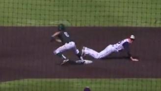 Kansas H.S. Baseball Team Pulls Off A Hidden Ball Trick That Would Make Chris Angel Blush To Advance To State Semis