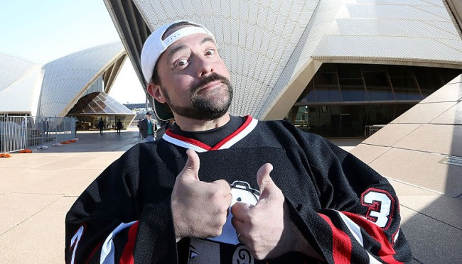 Kevin Smith Weed Heart Attack Saved Life