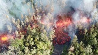Unbelievable Videos Of Kilauea Volcano Erupting And Lava Causing Mandatory Evacuations In Hawaii