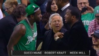 Meek Mill Explains What The Hell He Was Talking About In His Viral Encounter With Gucci Mane And Robert Kraft