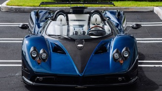 You Can Now Lease A Pagani Huayra Roadster Supercar For The Low, Low Price Of Just $25K A Month
