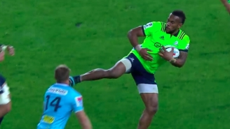 A Rugby Player Got Kicked In The Face With A Cleat And Handled It Like A Goddamn Boss