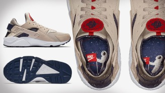 Dope Or Nope? Nike Unveils New Look For The Air Huarache Run With Moon-Landing Graphics
