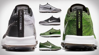 These New Flyknit Racer G Golf Shoes Nike Just Dropped Are Absolutely Filthy