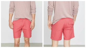 Save $50 On These Comfy Swim Trunks Inspired By High-End Dress Pants