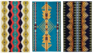 These Pendleton Tribal Pattern Oversized Beach Towels Are Pretty F'n Spectacular