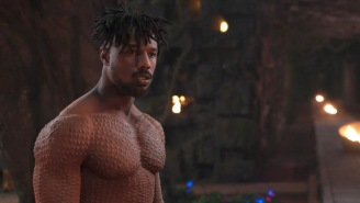 Check Out The Insane Process Michael B. Jordan Went Through To 'Scar' His Body For 'Black Panther'