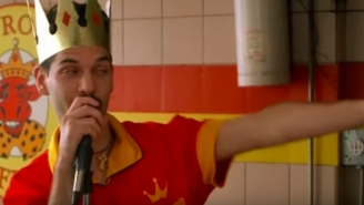 This Guy Quit His Job At Popeyes By Performing A Freestyle For The Entire Restaurant