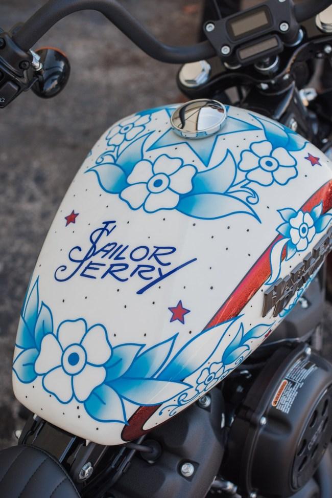 Sailor Jerry Harley-Davidson Custom Motorcycles