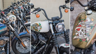 Sailor Jerry And Harley-Davidson Combined To Make Six Dope Custom Motorcycles (Enter To Win One)