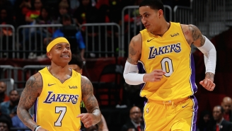 Kyle Kuzma Clowns Teammate Isaiah Thomas About His Height In Entertaining Friendly Feud