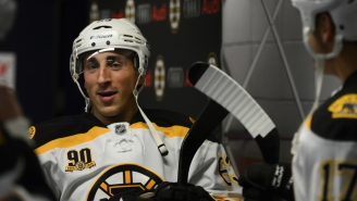 Montreal Canadiens Throw Shade At Brad Marchand For Licking Players, He Licks Back With Savage Tweet