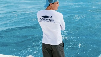 New Line Of Performance Shirts And Shorts Made From Recycled Fishing Nets Is A Must-Have For Summer