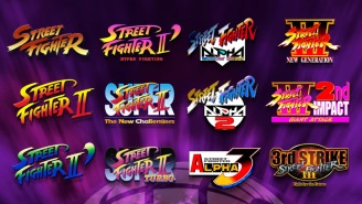 The 'Street Fighter 30th Anniversary Collection' Is Out And It Is LOADED With Goodies