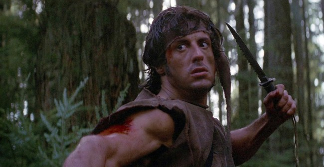 Sylvester Stallone Story Outfit First Blood