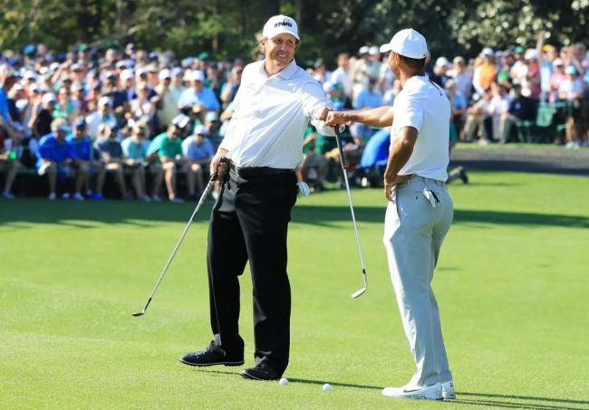 Tiger Woods Phil Mickelson The Players Championship