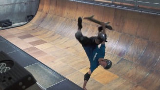 Tony Hawk Throws Down 50 Different Tricks On The Vert Pipe For His 50th Birthday