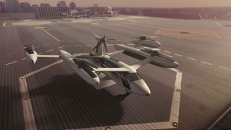 First Look At Uber's New Flying Taxi And Ambitious Plans As They Launch Partnership With US Army