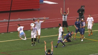 This Ultimate Frisbee Behind-The-Back Buzzer Beater Hail Mary Should Be #1 On The 'SC Top 10'