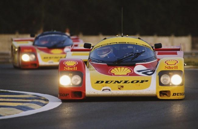 Vern Schuppan 18 Shell Dunlop Porsche 962 C 1988