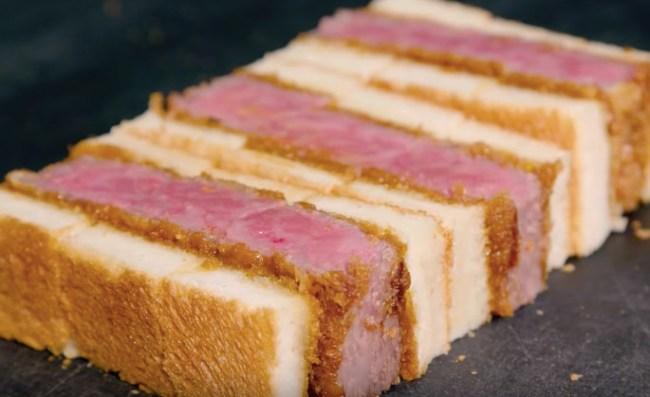 Wagyu Sando Steak Sandwich Japan