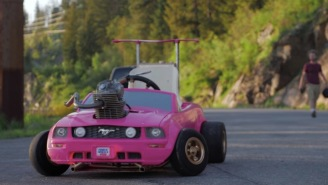 Someone Created The World's Fastest Barbie Car Using A 240cc Engine And It Looks Unbelievably Fun