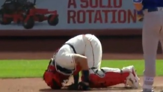Yadier Molina Forced To Have Emergency Surgery After Taking Foul Ball To The Groin On 102 MPH Fastball