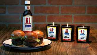 Get Dad A Savory A.1. Meat-Scented Candle For Father's Day