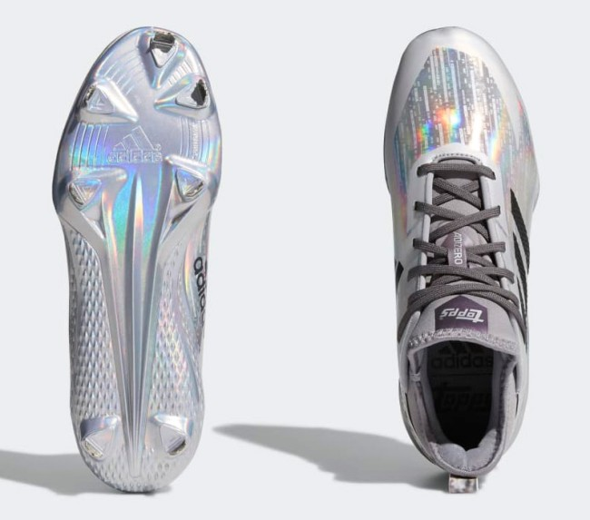 Adidas Topps New Baseball Cleats Afterburner V x Topps