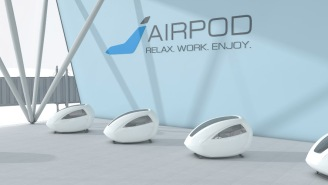 Soon You Can Lock Yourself In A Pod And Watch Netflix At Airports, Lessening Human Interaction