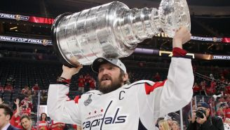 Alexander Ovechkin Would Love This Stanley Cup Made Out Of Natty Light Cans