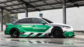 This Neck-Snappingly Fast 1,200-HP Audi RS3 Created By Schaeffler Is A Technological Masterpiece