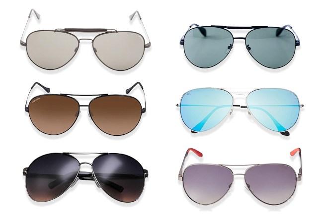 Aviator Sunglasses Under 100