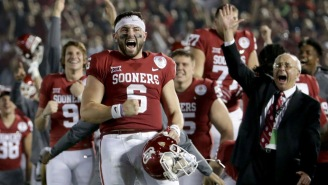 Baker Mayfield Breaks Down Video Of Being Tackled By A Cop, Crushes Colin Cowherd's Hot Takes